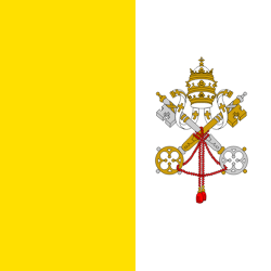 Holy See (Vatican City State)-flag